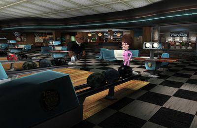 Simulation: Lade Bowling-Bahn auf dein Handy herunter