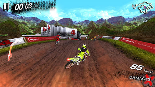 Ultimate motocross 4 скриншот 1