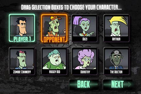 Arcade-Spiele: Lade Straßen Zombie Kämpfer auf dein Handy herunter
