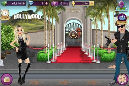 Hollywood story capture d'écran 1