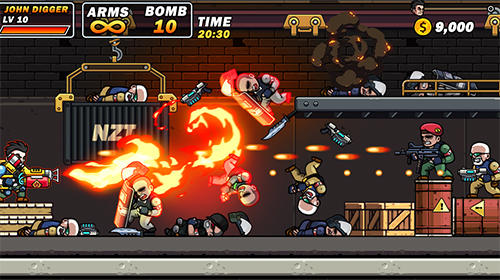 Action Gun brothers for smartphone