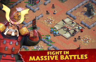 Screenshot Samurai Belagerung auf dem iPhone