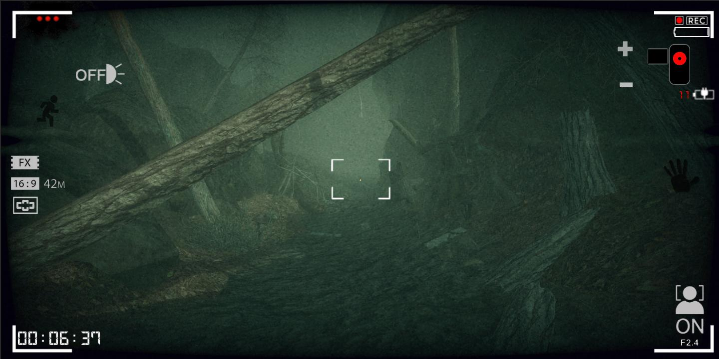 Dark Forest: Lost Story Creepy & Scary Horror Game captura de tela 1