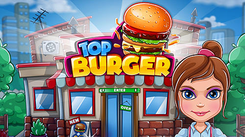 Top burger chef: Cooking story Symbol