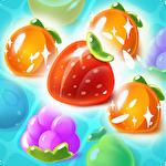 Juice fruit pop icon