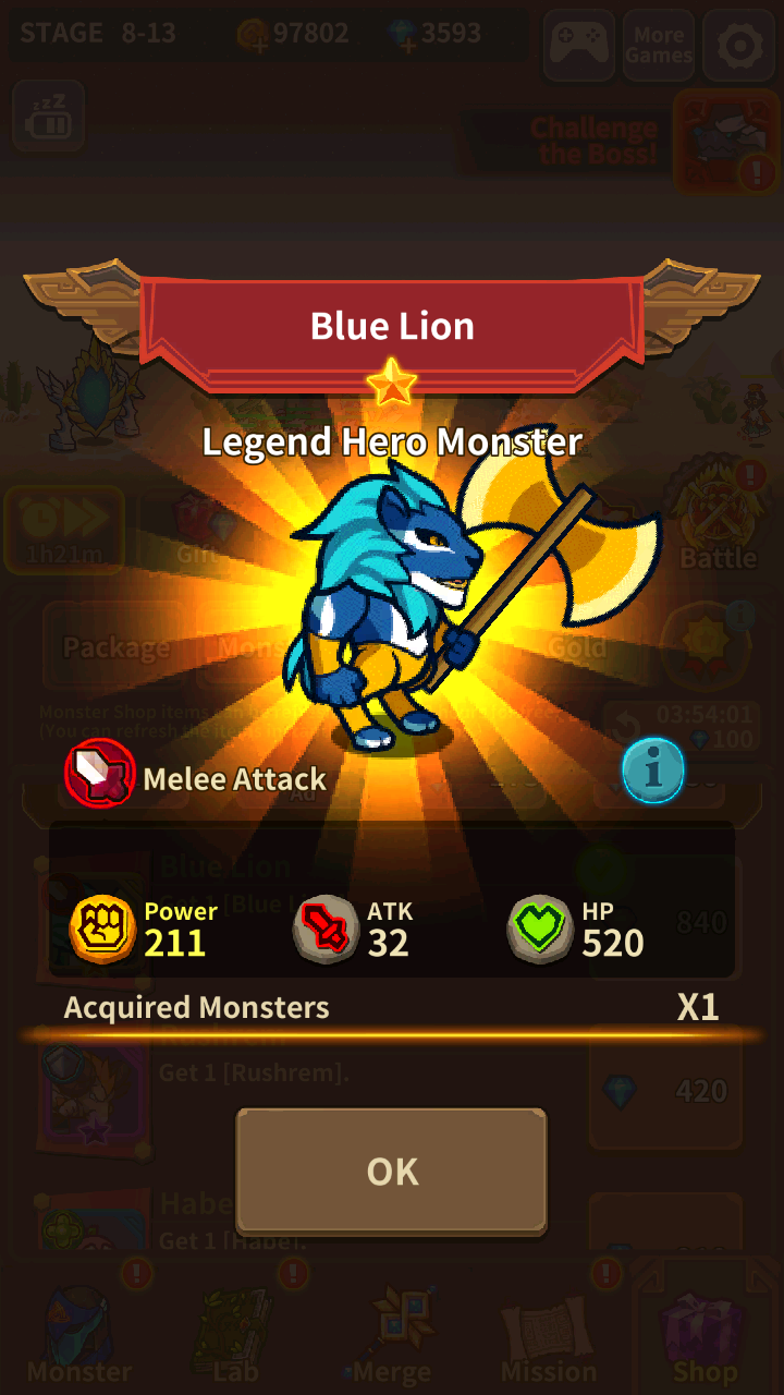 Monster Merge King for Android