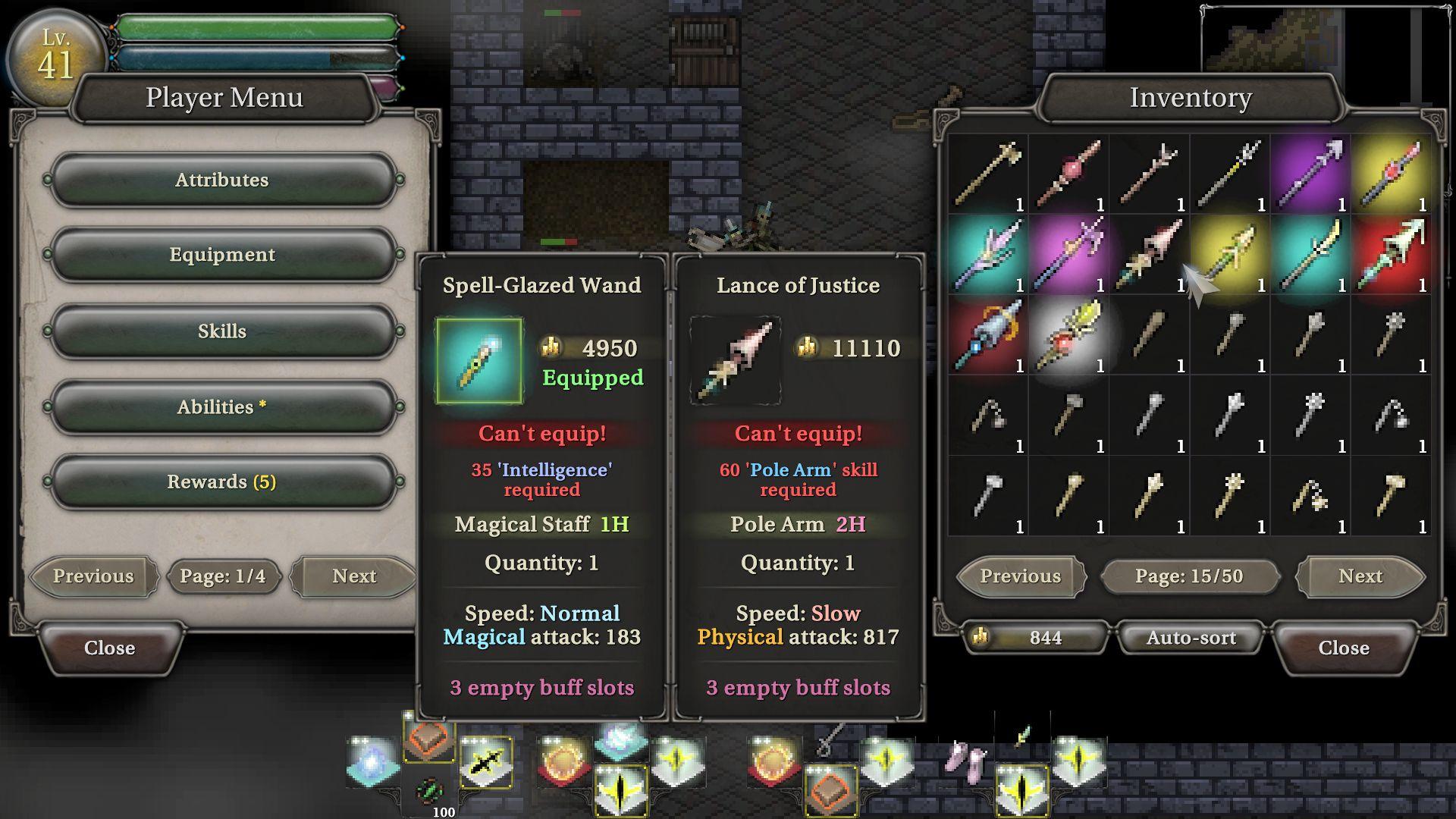 9th Dawn III RPG captura de tela 1