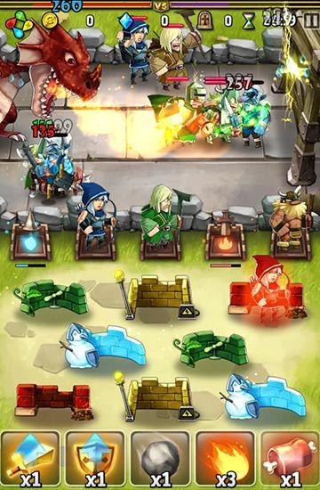 Strategie Armies of dragons für das Smartphone
