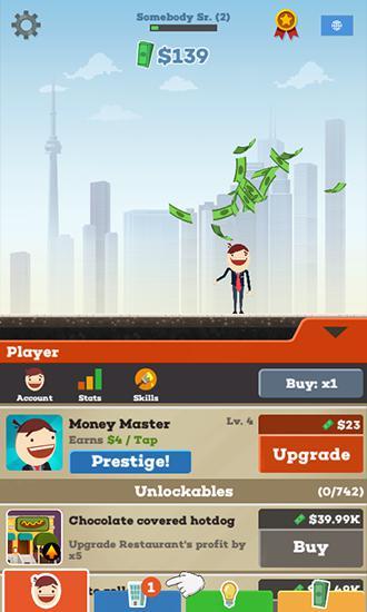 Arcade-Spiele Tap tycoon für das Smartphone