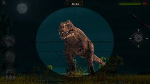Jagd-Spiele Jurassic hunt 3D auf Deutsch