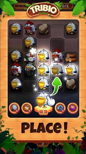 Logikspiele Tribio puzzle für das Smartphone
