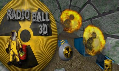 Radio Ball 3D Symbol