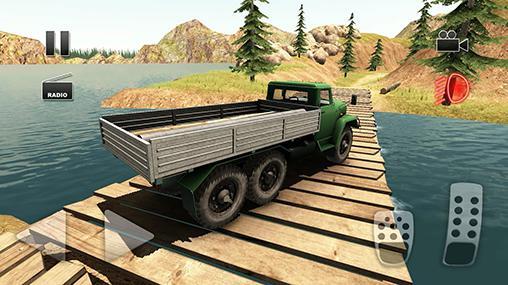 Offline Spiele Truck driver: Crazy road 2 auf Deutsch