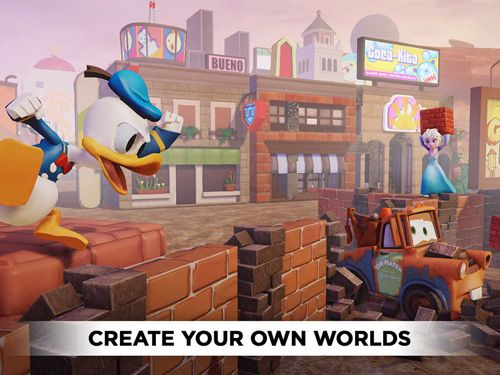 Simulation games: download Disney infinity: Toy box to your phone
