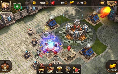 Strategische RPG-Spiele Dark rivals auf Deutsch