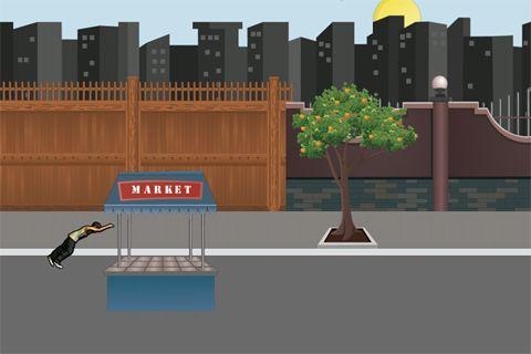 Screenshot Parkour: Roof Riders auf dem iPhone