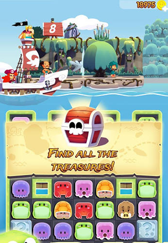 Pirate match adventure for Android
