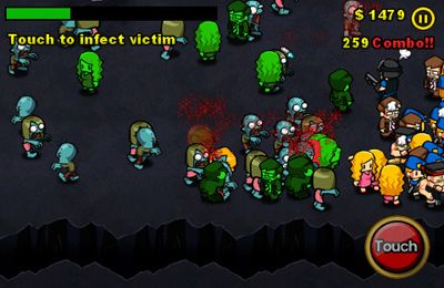 Screenshot Zombie-Infektion auf dem iPhone