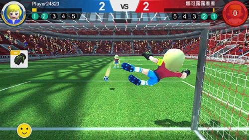 Fußballspiele Perfect kick: Russia 2018 auf Deutsch