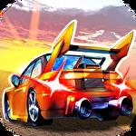 Crazy racing: Speed racer icon