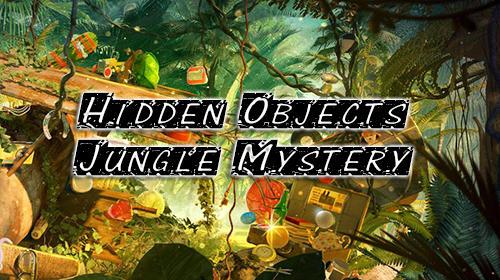 Hidden objects: Jungle mystery screenshot 1