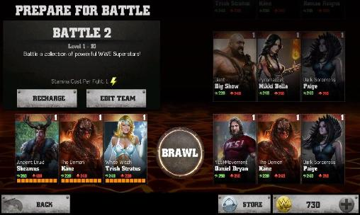 Action: spiel WWE Immortals für BlackBerry