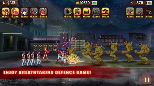 Baseball vs zombies screenshot 2