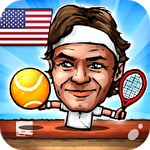 Puppet tennis: Forehand topspin icône
