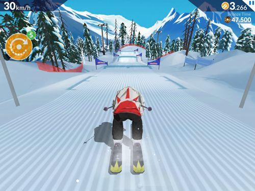 FRS ski cross: Racing challenge in Russian