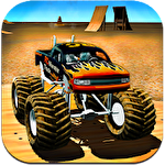 RC monster truck icon