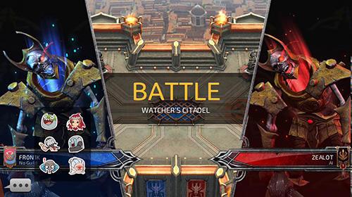 MOBA-Spiele Rival: Crimson x chaos auf Deutsch
