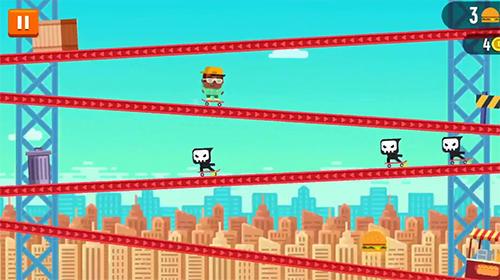 Tap skaters: Downhill skateboard racing Screenshot