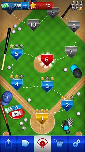 Sportspiele Baseball megastar für das Smartphone
