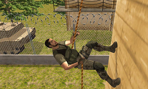 US army course training school game pour Android