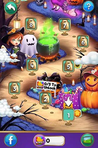 Gambling Bingo quest: Halloween holiday fever for smartphone