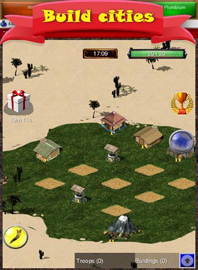 Onlinespiele Ur-land: Build your empire für das Smartphone