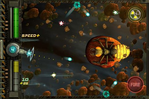 Xenon shooter: The space defender for iPhone for free