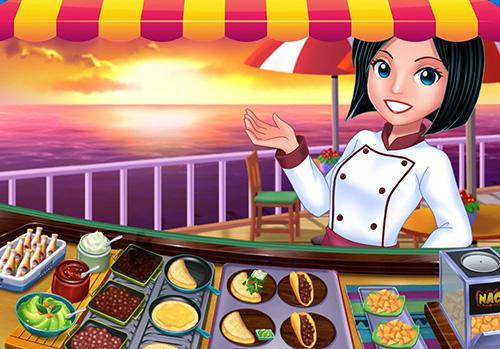 Arcade-Spiele Food court fever: Hamburger 3 für das Smartphone