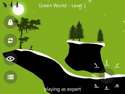 Screenshot Krashlander: Fahre Ski, Spring, Crashe! auf dem iPhone