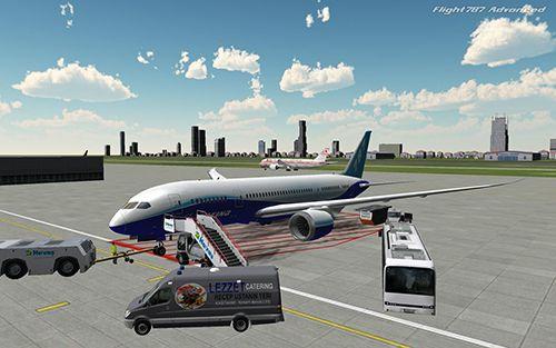 Simulator-Spiele: Lade Flug 787: Erweitert auf dein Handy herunter