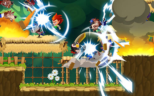 Arcade Metal dash. Brawler stars: Monster hunter shooting games para teléfono inteligente