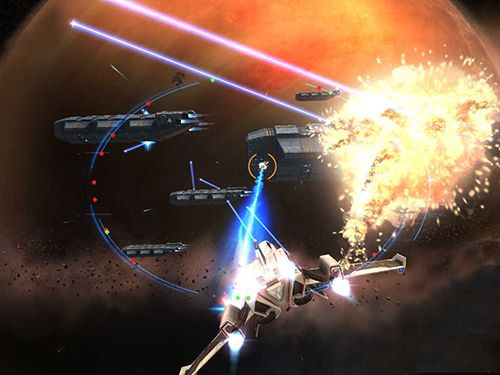 Shooter games: download Beyond space: Remastered на iPhone