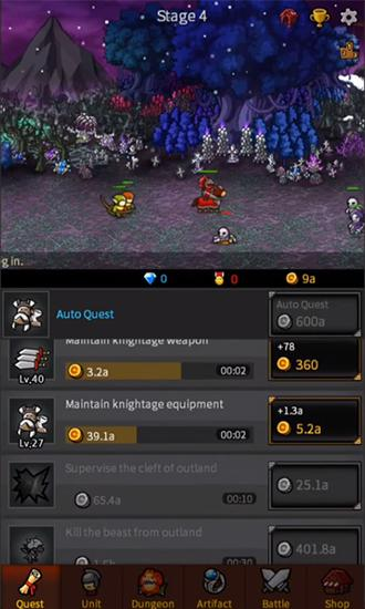 Endless frontier für Android