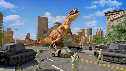 Dino rampage 3D capture d'écran