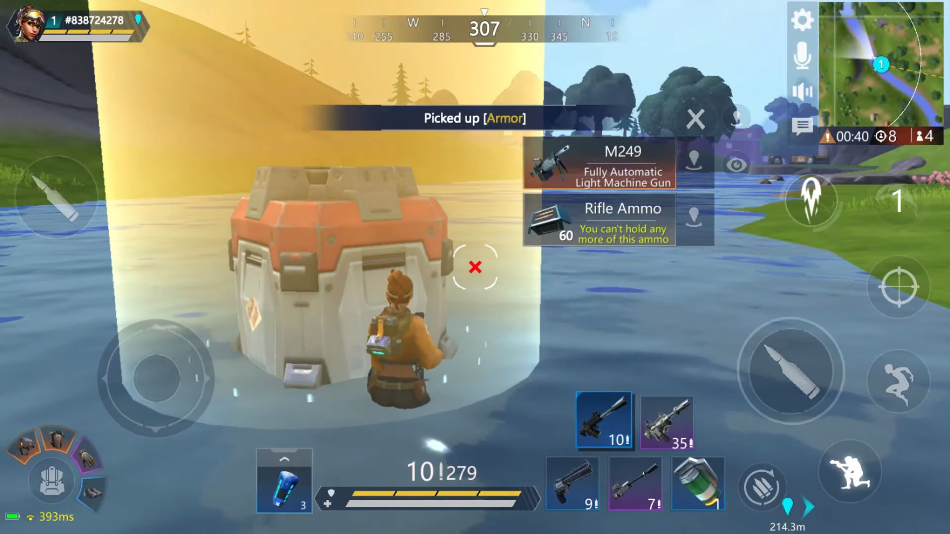 Omega Legends capture d'écran 1