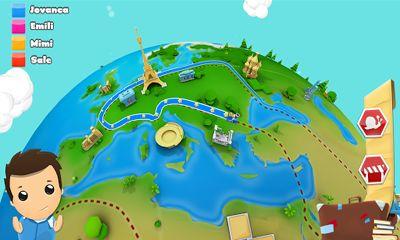 Logik Geography Quiz Game 3D für das Smartphone