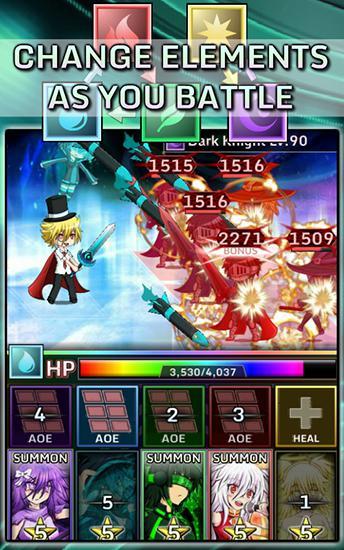 Arcade-Spiele Gacha world für das Smartphone