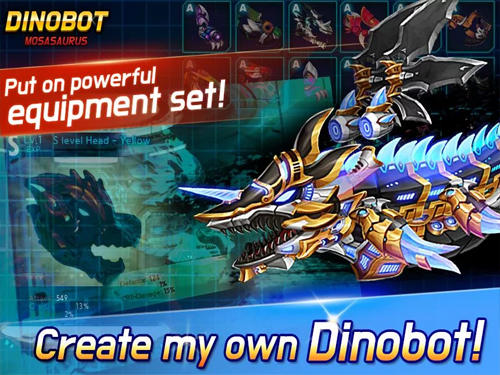 Dinobot: Mosasaurus for Android