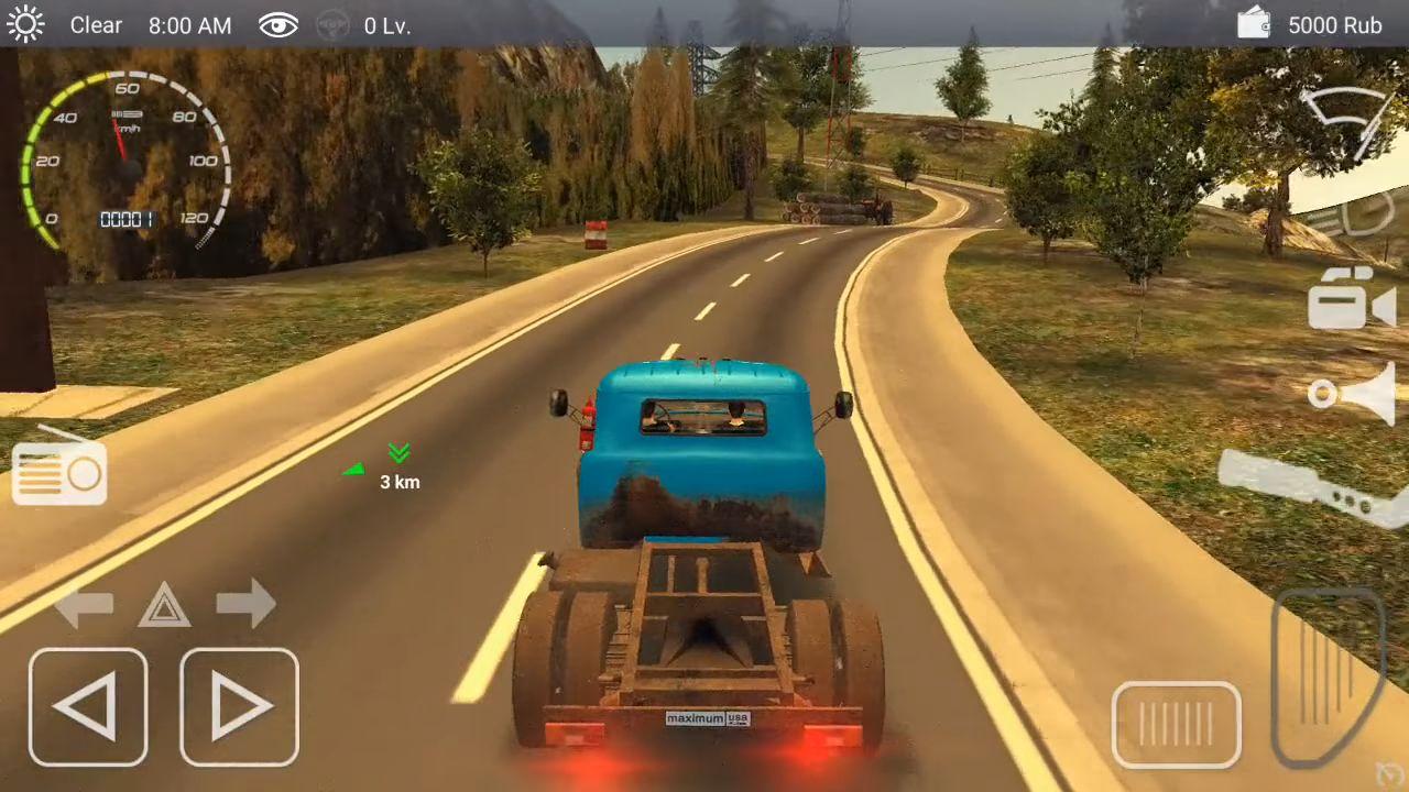 Russian Car Driver ZIL 130 capture d'écran 1