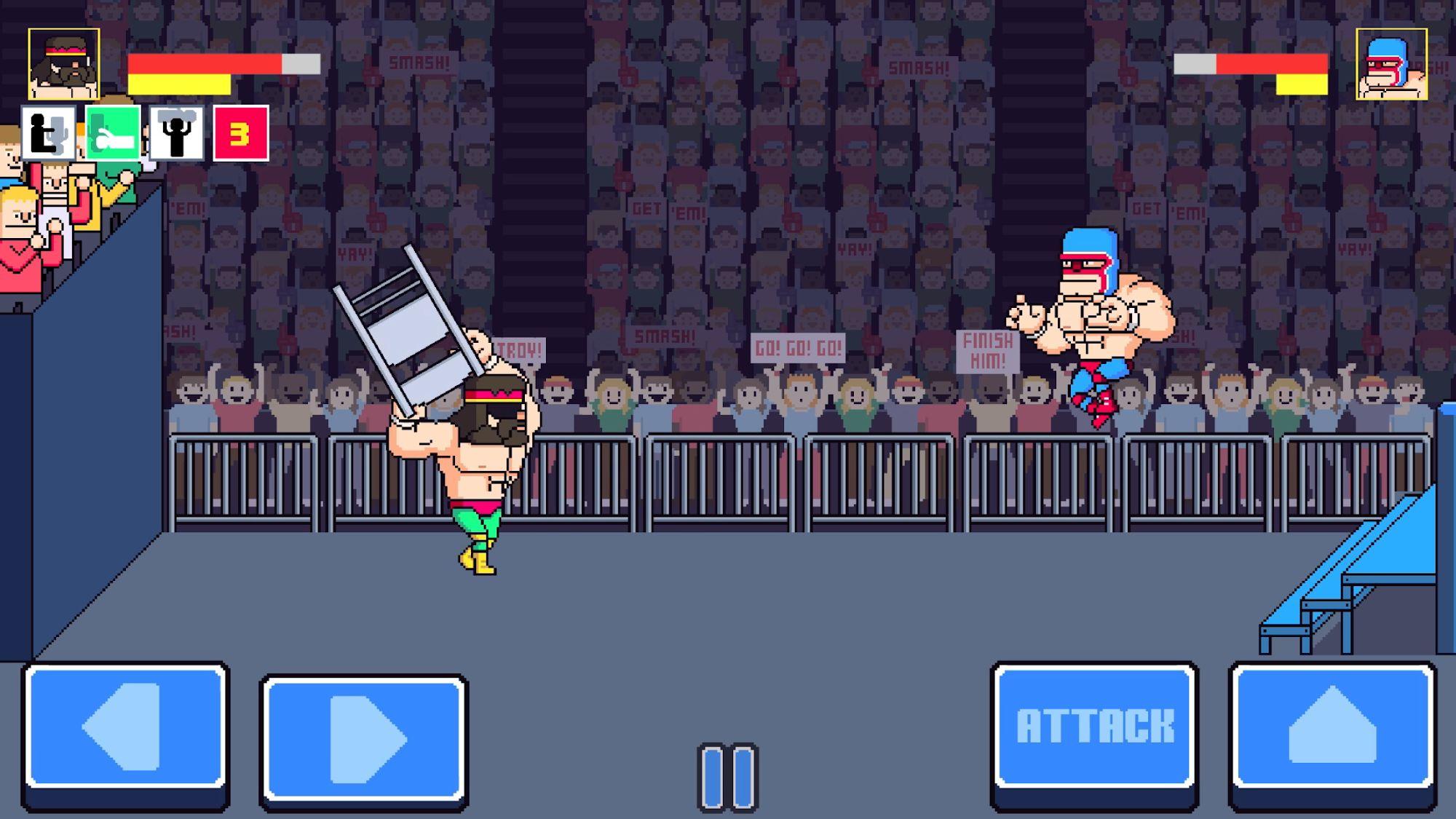 Rowdy City Wrestling скриншот 1